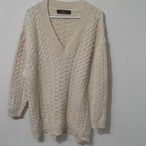 Zara Dresses - Zara oversized chunky sweater dress